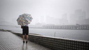 Třetina devítimilionového Tokia leží pod úrovní mořské hladiny a prudký déšť může mít neblahé následky