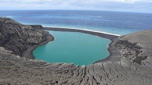 Nový ostrov s neoficiálním názvem Hunga Tonga-Hunga Ha'apai