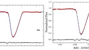 Model poklesu jasu vlivem prachového mračna vs. pozorování