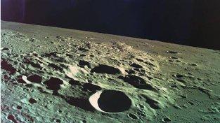 Poslední snímek sondy Berešit