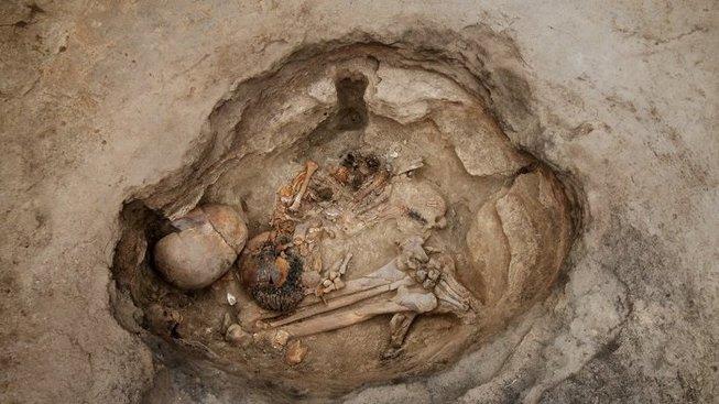 Ostatky obyvatele Çatal Höyük