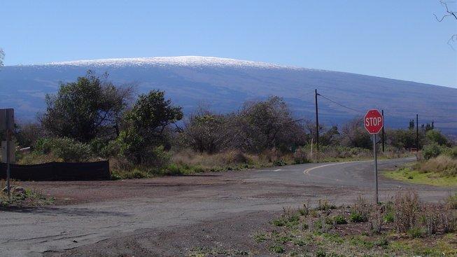 Havajská sopka Mauna Loa