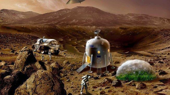 Vědci řeší, jak zařídit, aby astronautům nezakrněly svaly dřív, než dorazí na Mars. Ilustrační snímek