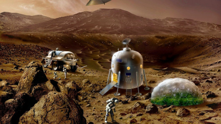 Astronauti si na Marsu mohou připíjet červeným vínem. A budou fit!