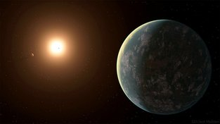 Exoplaneta GJ 357 d s hvězdou GJ 357