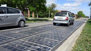 Tak vypadá solární vozovka