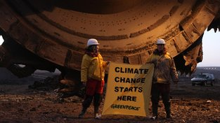 Tady začíná klimatická změna