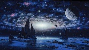 Jak vypadá smrt galaxie?