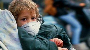 Jeho zdraví ohrožuje znečištění současné i minulé