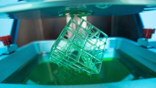 Stereolitografická fotopolymerová 3D tiskárna