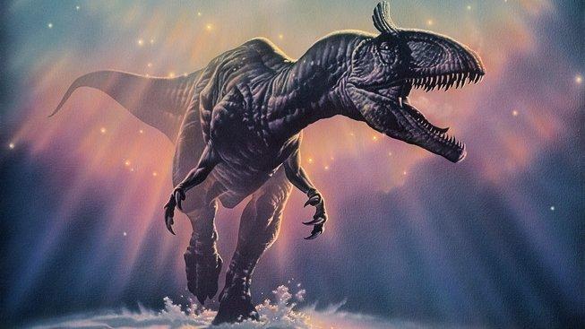 Cryolophosaurus, dinosaurus žijící během raného jurského období v Antarktidě, která tehdy měla teplé podnebí