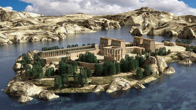 Nil v éře faraonů
