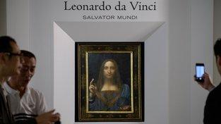 Salvator Mundi, nejdražší obraz světa. Byl vydražen za 450 milionů dolarů