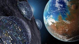Terraformace planety je hypotetický proces, během něhož by lidé pozměnili ovzduší a teplotu planety tak, aby na ní mohli žít bez skafandrů. Pak by obyvatelé Phobosu, měsíce Marsu, mohli hledět na úrodnou (kdysi) rudou planetu