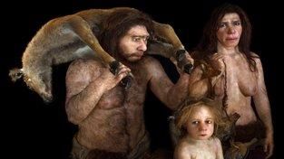 Neandrtálci. Naši předci (homo sapiens) se s nimi v Evropě křížili