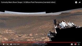 Mars očima robota Curiosity