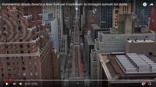 Karanténa na newyorském Manhattanu