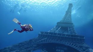 Eiffelovku moře nepohltí, tahle představa je skutečně mimo realitu