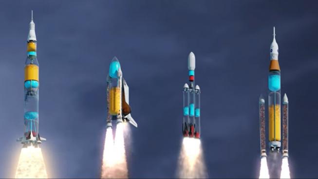 Důvtipná animace ukazuje, co se děje v raketách po startu