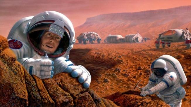 Osidlování Marsu