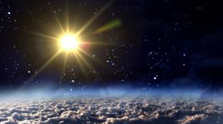 Solární minimum. V této době je nižší ultrafialové záření