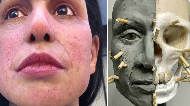 Obličej ženy pojmenované Calpeia a postup jejího modelování
