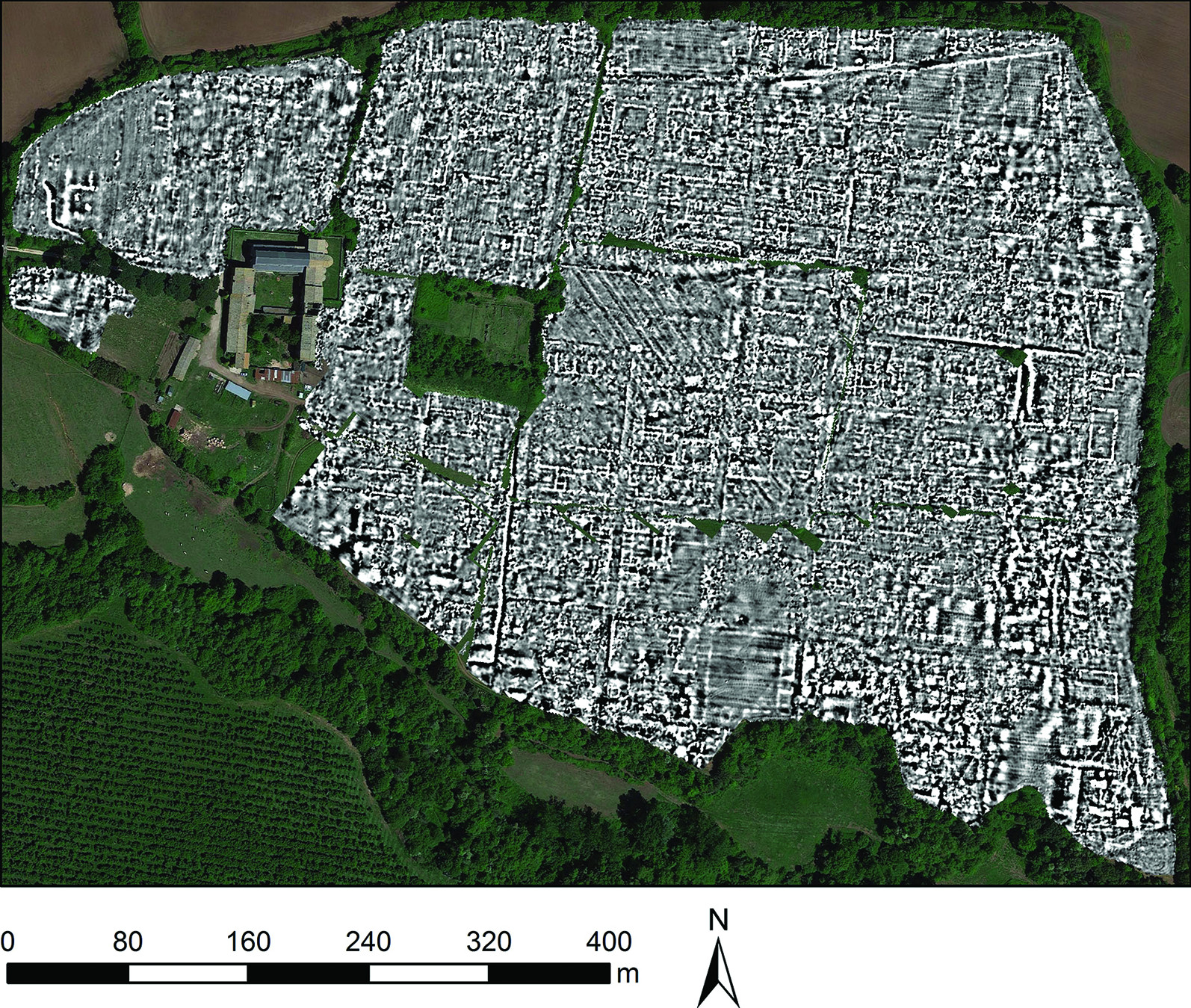 Falerii Novi Map