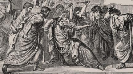Zrod Římské říše přiblížil gigantický výbuch sopky