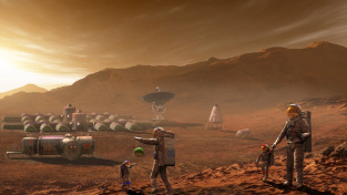 Osadníci na rudé planetě