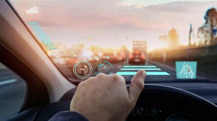Jízda v autě s 'chytrým sklem' z vás udělá videohráče