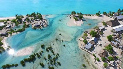 Stát, který se potápí, má plán: Stoupnout s oceánem