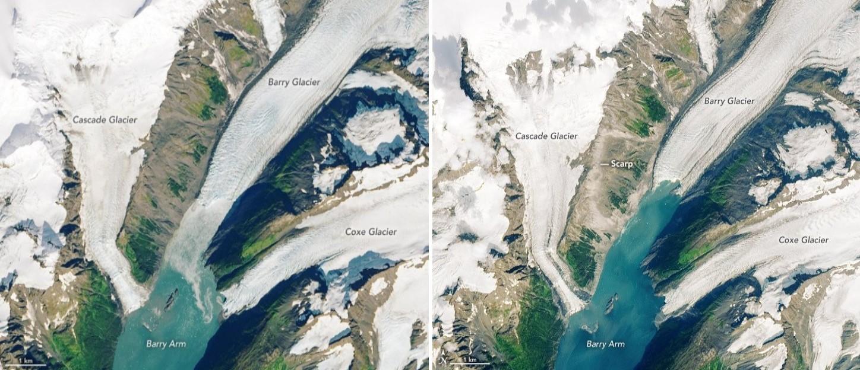 satelitní snímky