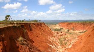 Průrva na severu Madagaskaru.