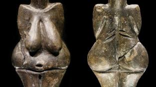 Věstonická venuše, soška z pálené hlíny datovaná do období 29 000 až 25 000 let př. n. l. Je nejstarší známou keramickou sochou na světě.