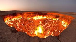 Může snad brána do pekla vypadat věrohodněji?