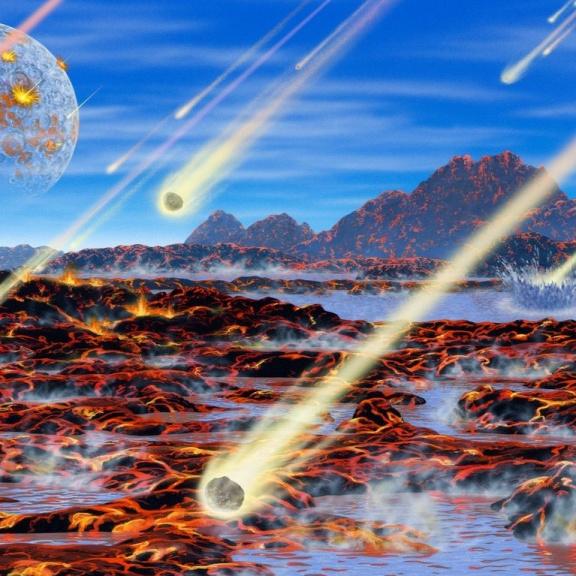 Voda přilétala na Zemi v meteoritech