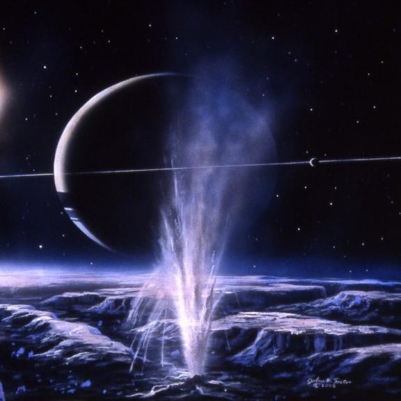 Pod skořápkou tajuplného Enceladu se může ukrývat život