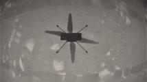 Na Marsu poprvé letěl vrtulník