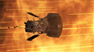 Parkerova sluneční sonda, nejrychlejší výtvor člověka.
