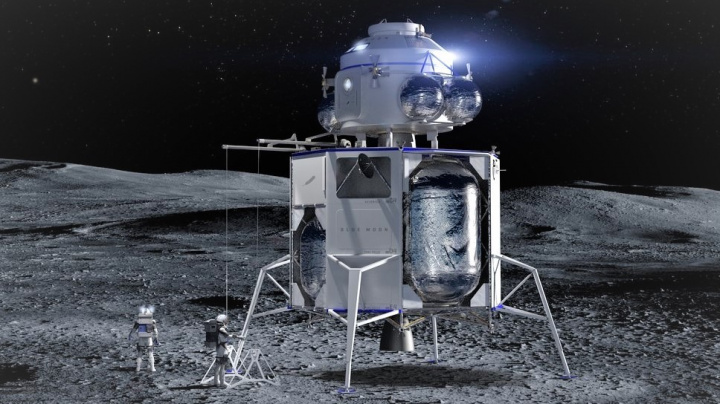 Bezos prodává cestu na Měsíc se slevou dvou miliard dolarů. Co NASA, koupí ji?
