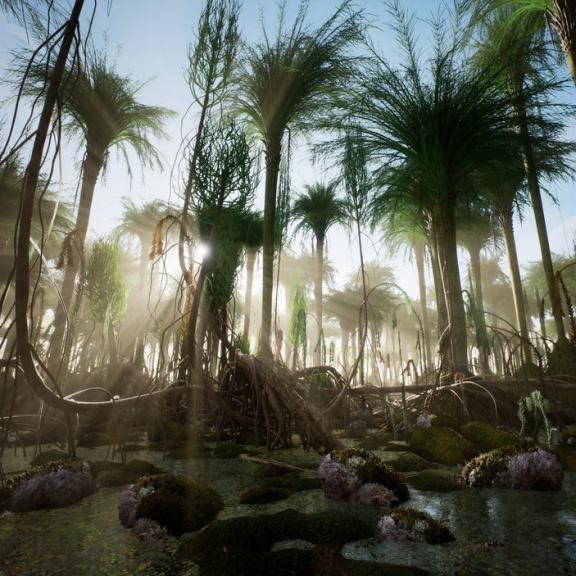 Tak vypadal první les na Zemi. Vědci ho vykreslili ze sítě kořenů