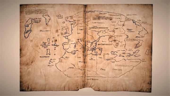 Mapa, která měla dokazovat vylodění Vikingů v Americe, je padělek