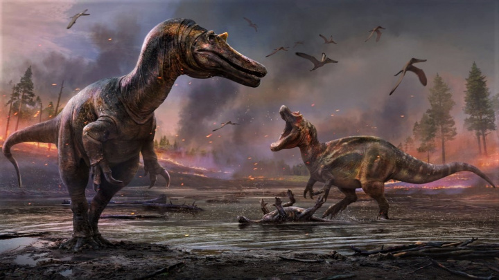Tihle masožraví dinosauři žili na opačné straně Mléčné dráhy
