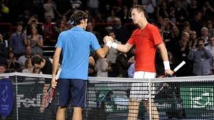 Berdych prohrál v pařížském semifinále s Federerem