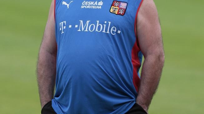 Kustod Jaroslav John na tréninku 2. června 2008. JAN TAUBER pro MEDIAFAX
