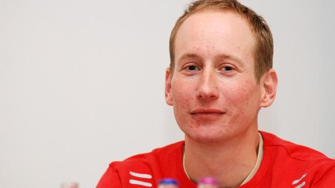 V Praze se 2. listopadu 2010 konala tisková konference běžeckého úseku Svazu lyžařů ČR. Na snímku Lukáš Bauer. ALEŠ BĚHOUNEK / MEDIAFAX