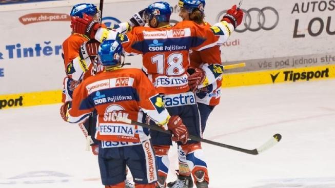 Sparta se utká s Pardubicemi o první místo v extralize