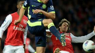 Fotbalisté Wiganu po Manchesteru United porazili i Arsenal
