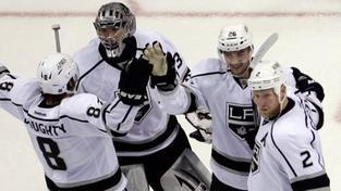 Los Angeles vyhrálo na ledě New Jersey první finále Stanley Cupu