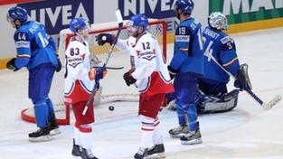Hokejisté porazili Itálii 6:0, dvakrát se trefil Čáslava
